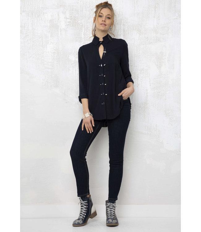 Elisa Cavaletti Basic jeans Denim Blue