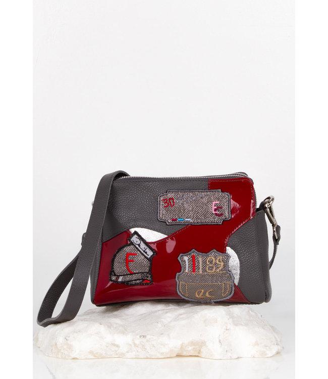 Elisa Cavaletti Leather bag Silenzio Tramonto