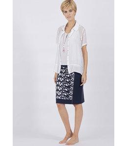 Elisa Cavaletti Basic-Bluse Bianco