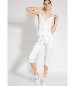 Elisa Cavaletti Pantalon 3/4 Bianco
