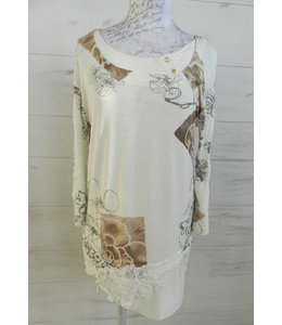 Elisa Cavaletti Shirt St. Canova Bianco