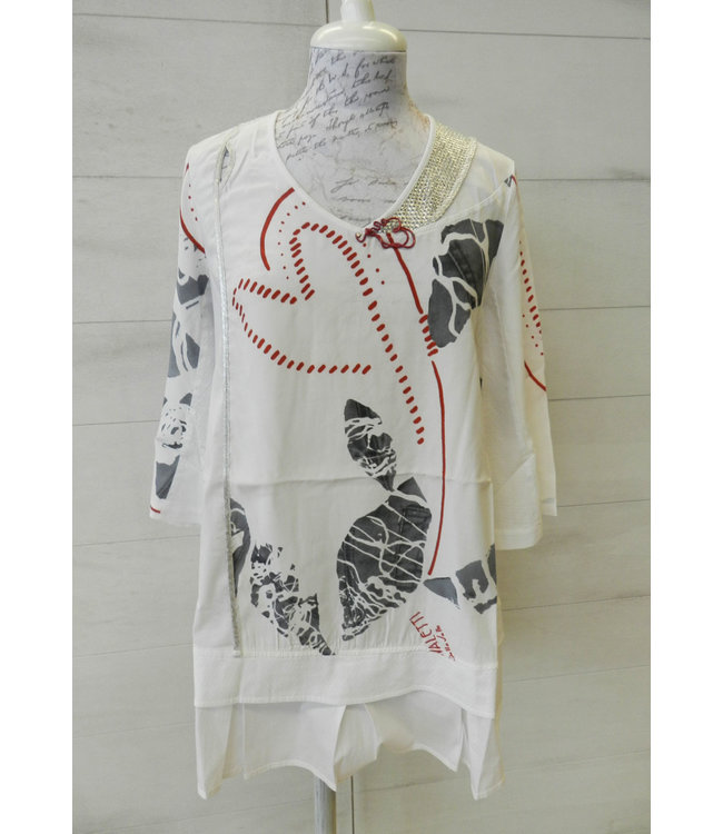 Elisa Cavaletti T-shirt St. Naif Bianco