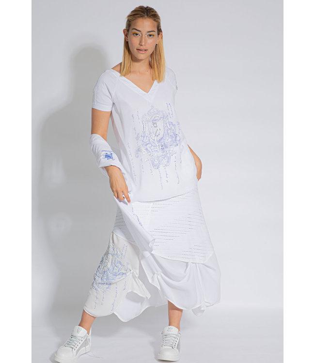 Elisa Cavaletti Skirt Bianco Mare