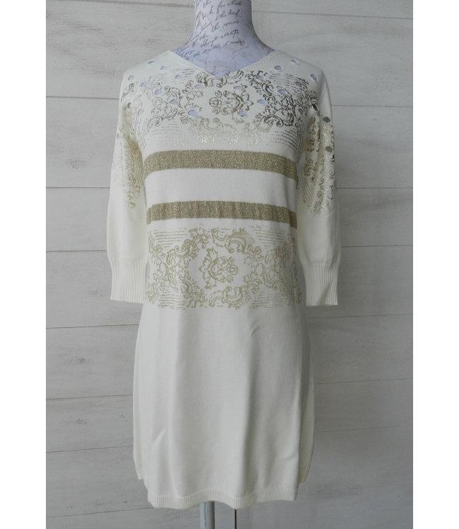 Elisa Cavaletti Knit Dress Incontro Oro