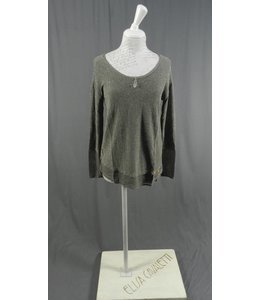 Elisa Cavaletti Pullover antrazith-silber