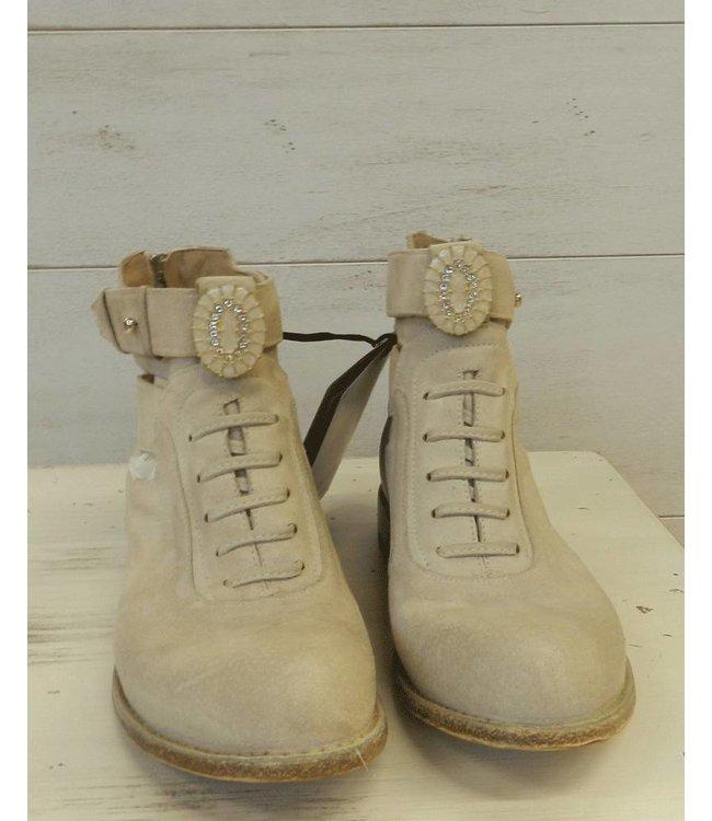 Elisa Cavaletti Wildleder-Schuh beige