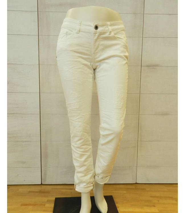 Mos Mosh 5-Pocket Slimfit Jeans écru