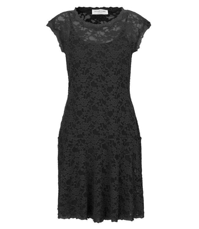 Rosemunde Robe dentelle noire