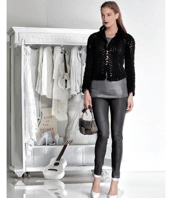 Elisa Cavaletti Short jacket black