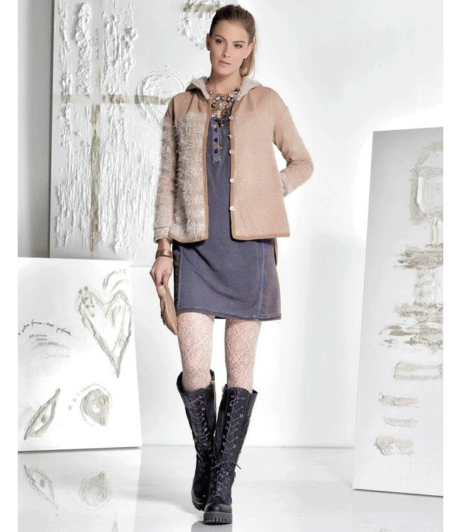 Elisa Cavaletti Jacket antique pink