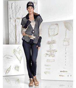 Elisa Cavaletti Basic Jeans dunkelblau