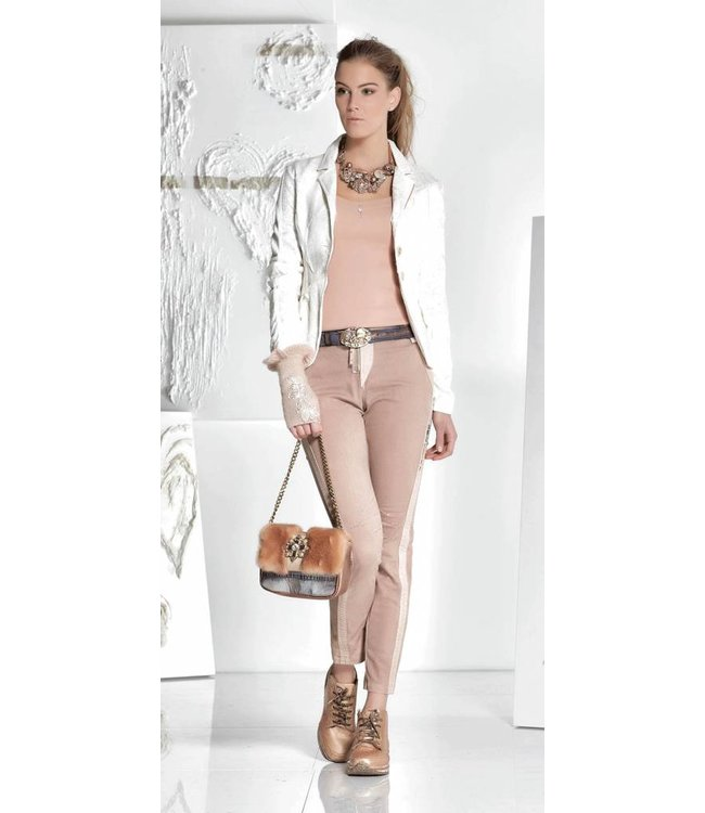 Elisa Cavaletti Jeans vieux rose