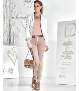 Elisa Cavaletti Short ecru jacket