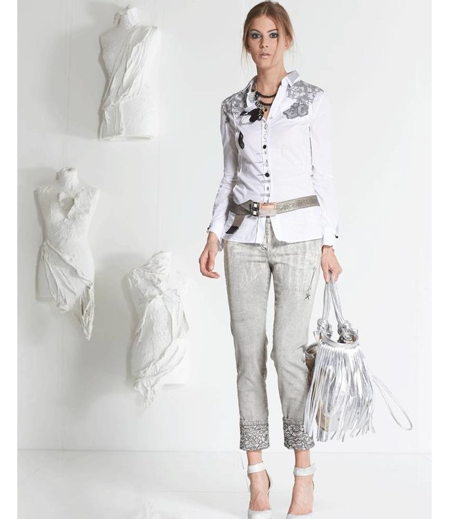 Elisa Cavaletti Jeans faded grey