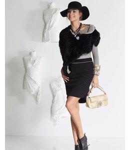 Elisa Cavaletti Black mini-skirt
