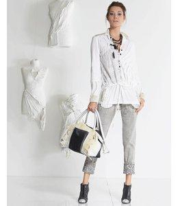 Elisa Cavaletti Long blouse ecru