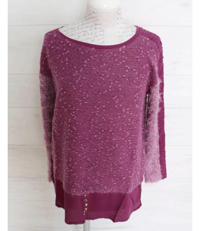 Elisa Cavaletti Long shirt purple