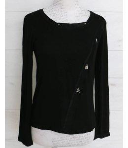 Elisa Cavaletti Basic-Shirt black