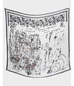 Elisa Cavaletti Printed scarf
