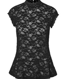 Rosemunde Lace shirt black