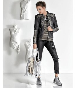 Elisa Cavaletti Short black jacket