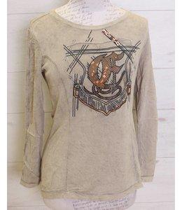Elisa Cavaletti T-Shirt taupe
