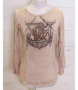 Elisa Cavaletti T-shirt vieux rose