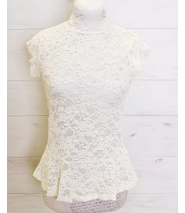 Rosemunde Lace shirt ecru