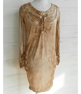 Elisa Cavaletti Dress écru-rotgold
