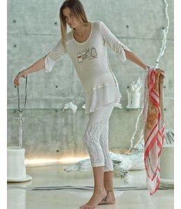 Elisa Cavaletti Long T-shirt sand