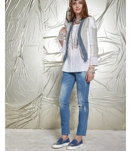 Elisa Cavaletti Basic jeans denim blue