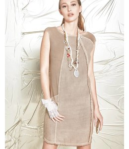Elisa Cavaletti Sleevless dress brown
