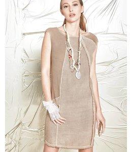 Elisa Cavaletti Sleevless dress brown