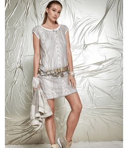 Elisa Cavaletti Dress ecru