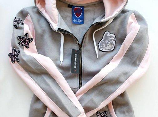 Hoodie Pink Sport