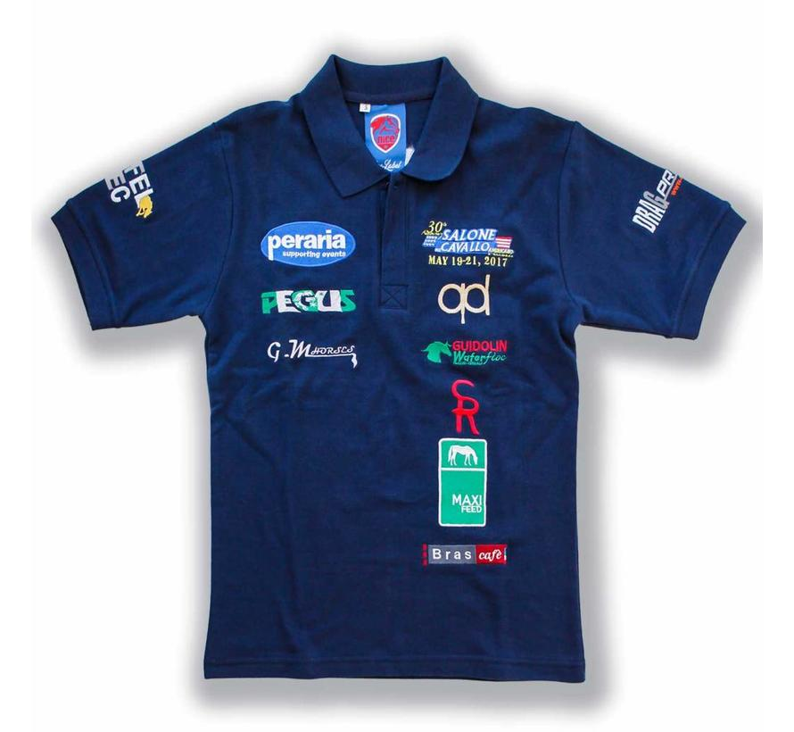 NRHA Italian Derby Polo Shirt