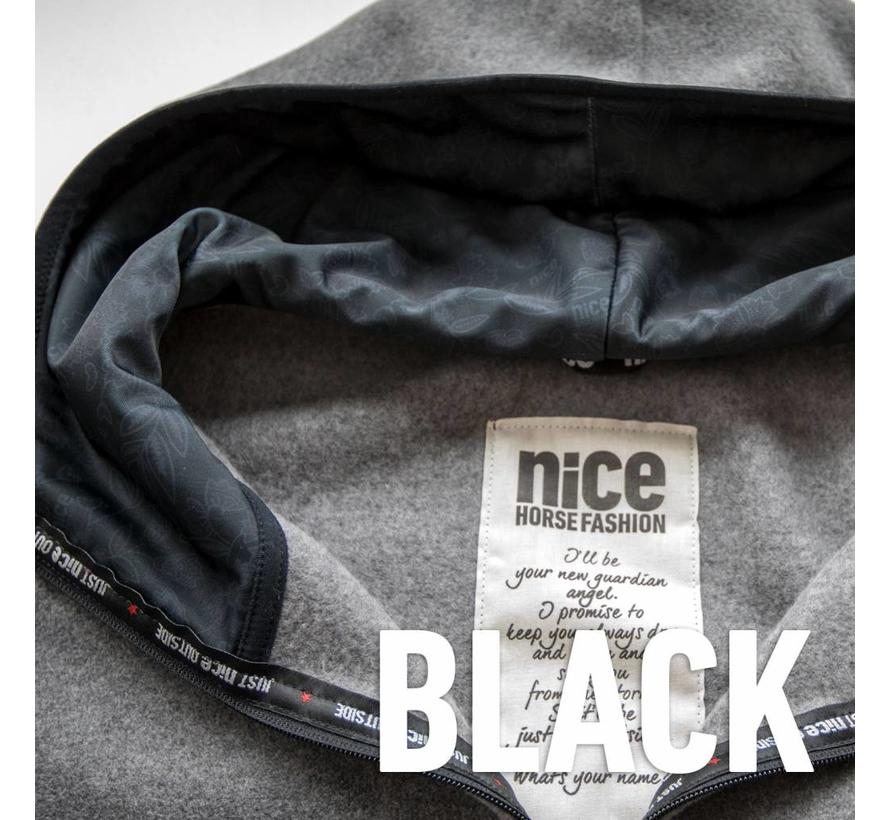 Essentials Fleece-Jacke Grey