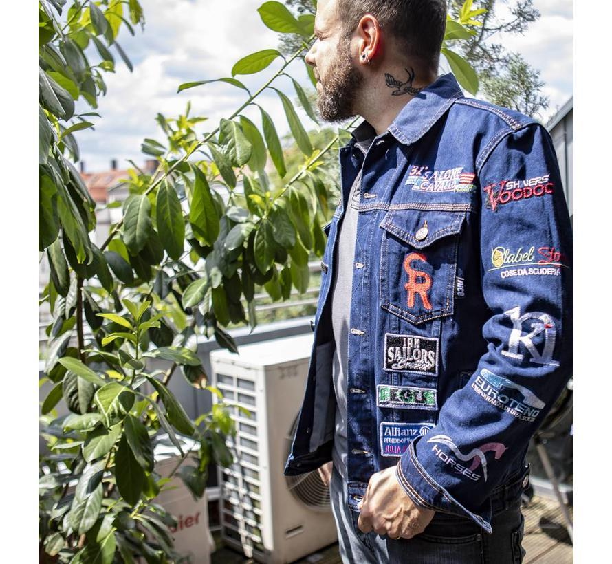 NRHA Italian Derby denim jacket