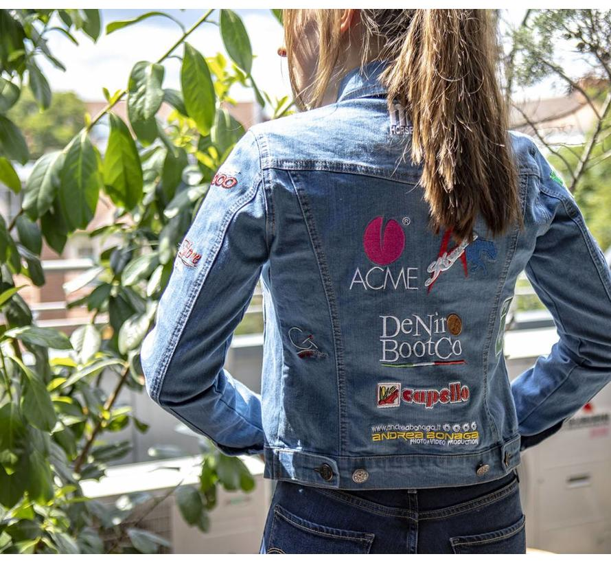 NRHA Italian Derby Jeansjacket Women