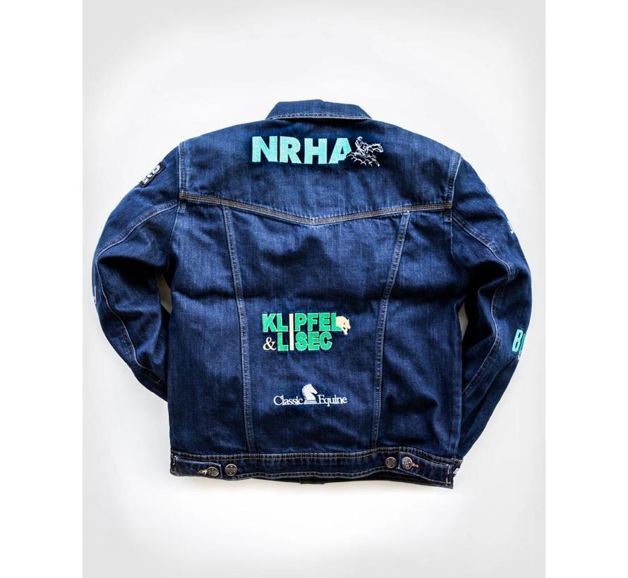 NRHA EURO Derby 2018 Jeansjacket