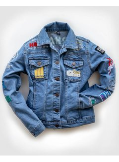 NRHA EURO Derby 2018 denim jacket women