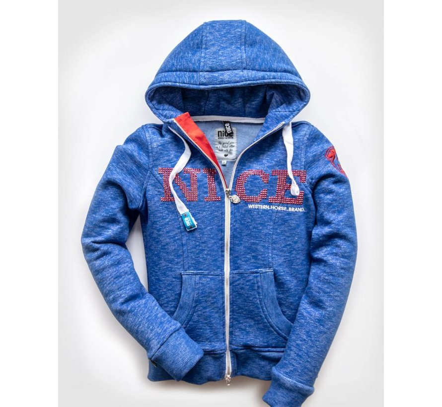 NICE logo hooded jacket in USA style