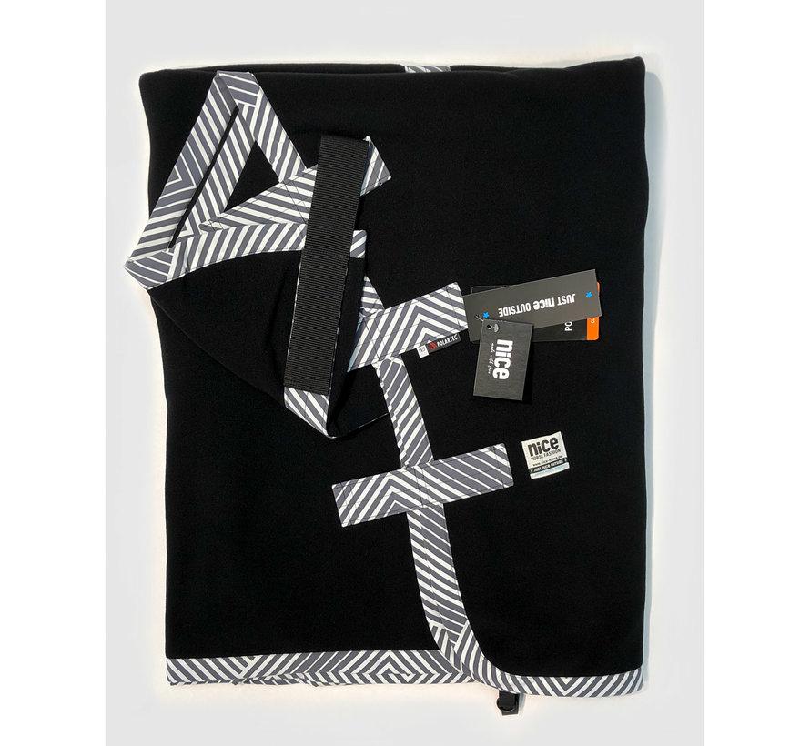 PowerCooler Black - Grey Stripes