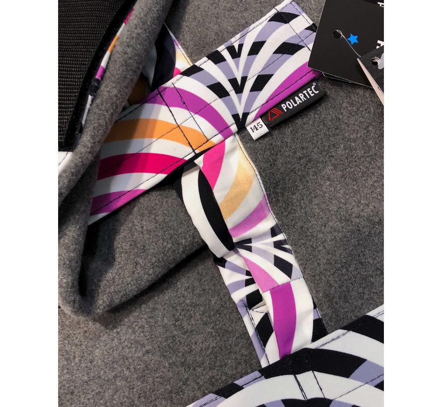 PowerCooler Grey - Pink Rainbow