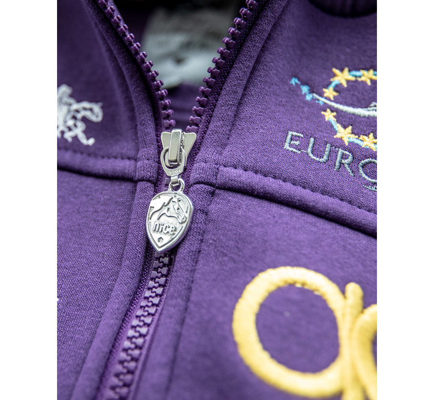NRHA Euro Futurity 19 Hoodie Lavendel Women