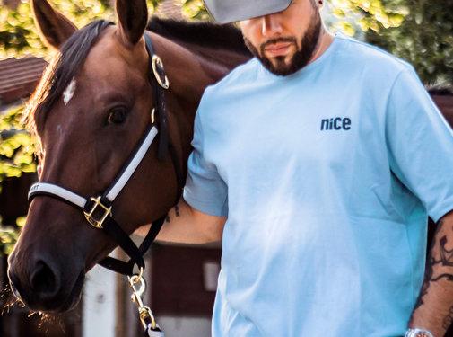 Cowboyschorle T-Shirt Scandia Blue