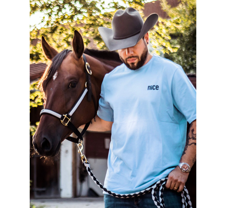 Cowboyschorle T-Shirt Scandia Blue