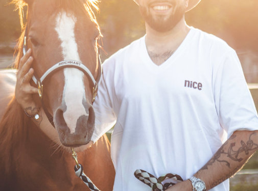 Cowboyschorle T-Shirt White