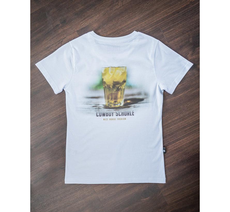 Cowboyschorle T-Shirt White Ladys