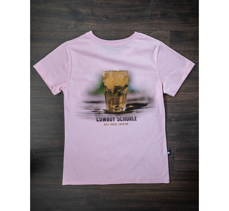 Cowboyschorle T-Shirt Rose